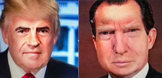 Trump-Nixon comparison