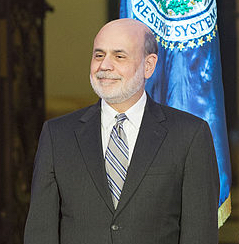Former Federal Reserve chief Ben Bernanke Federal Reserve creates all recessions