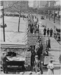 Photo of breadlines during the Great Depression