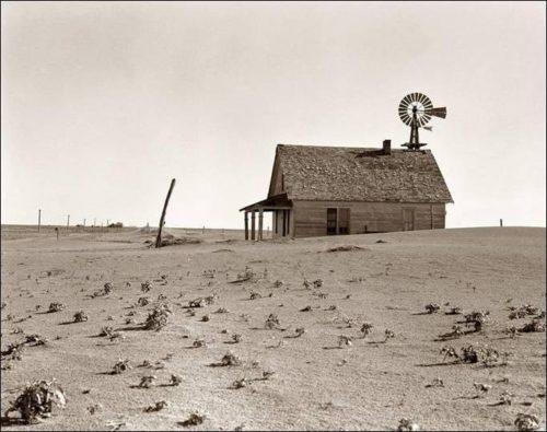 2019 recession coming - dust bowl photo