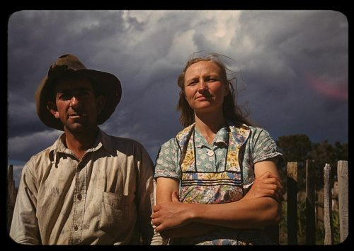 Farmers in Great Depression