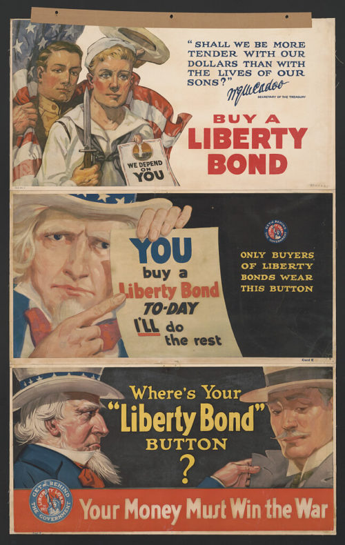 First liberty bonds, now a coronavirus war bond?