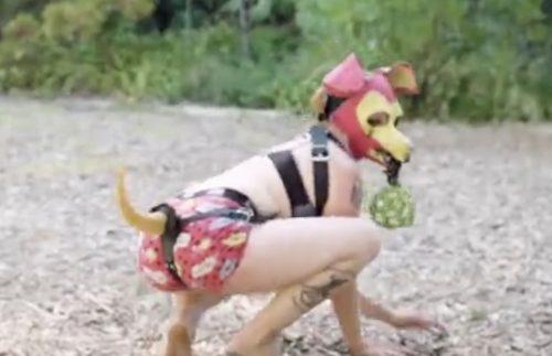 Man who becomes woman becomes dog
