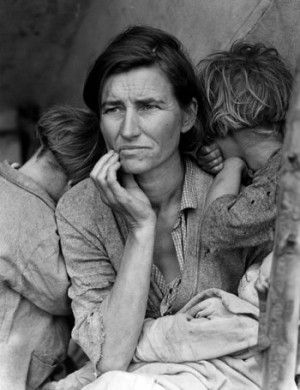 From an epocalypse of another time By Dorothea Lange, Farm Security Administration / Office of War Information / Office of Emergency Management / Resettlement Administration [Public domain], via Wikimedia Commons