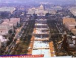 trump inauguration crowd photo shows sparse audience