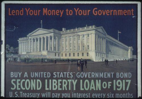 Second Libert Loan Bond Ad