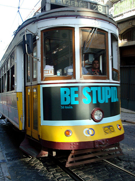 The Trumponomics Train may not be too smart. By a_marga from madrid, Spain (Be stupid) [CC BY-SA 2.0 (http://ift.tt/KcQbXG)], via Wikimedia Commons
