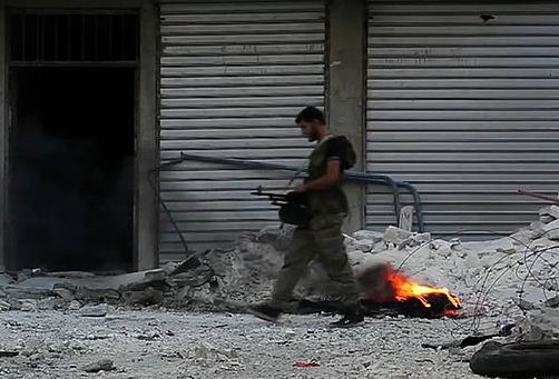 By Voice of America News: Scott Bobb reports from Aleppo, Syria [Public domain], via Wikimedia Commons