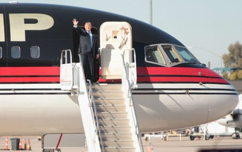 Trump's corporate tax cut is a gift to himself like his corporate jet.