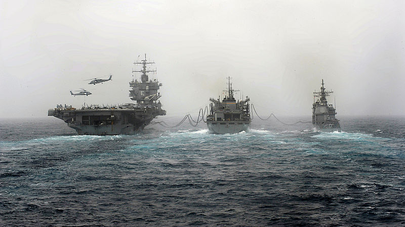 Rumors of wars grow common as US ships increasingly deploy in such places as the Arabian Sea and Red Sea.