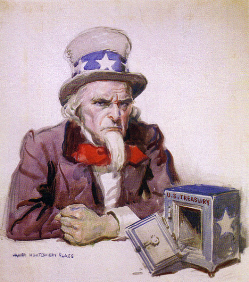 By James Montgomery Flagg. (Cartoon by James Montgomery Flagg, via [1]) [Public domain], via Wikimedia Commons