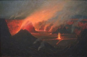 Euro crisis like a volcanic eruption
