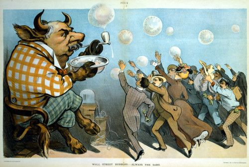 Wall Street bubbles being blown everywhere