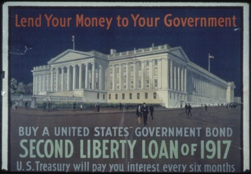 Picture of old government liberty bond